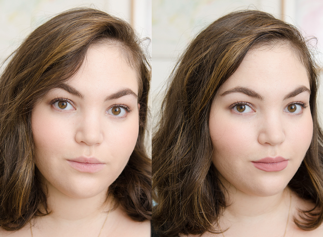 Before & After: Charlotte Tilbury Pillow Talk