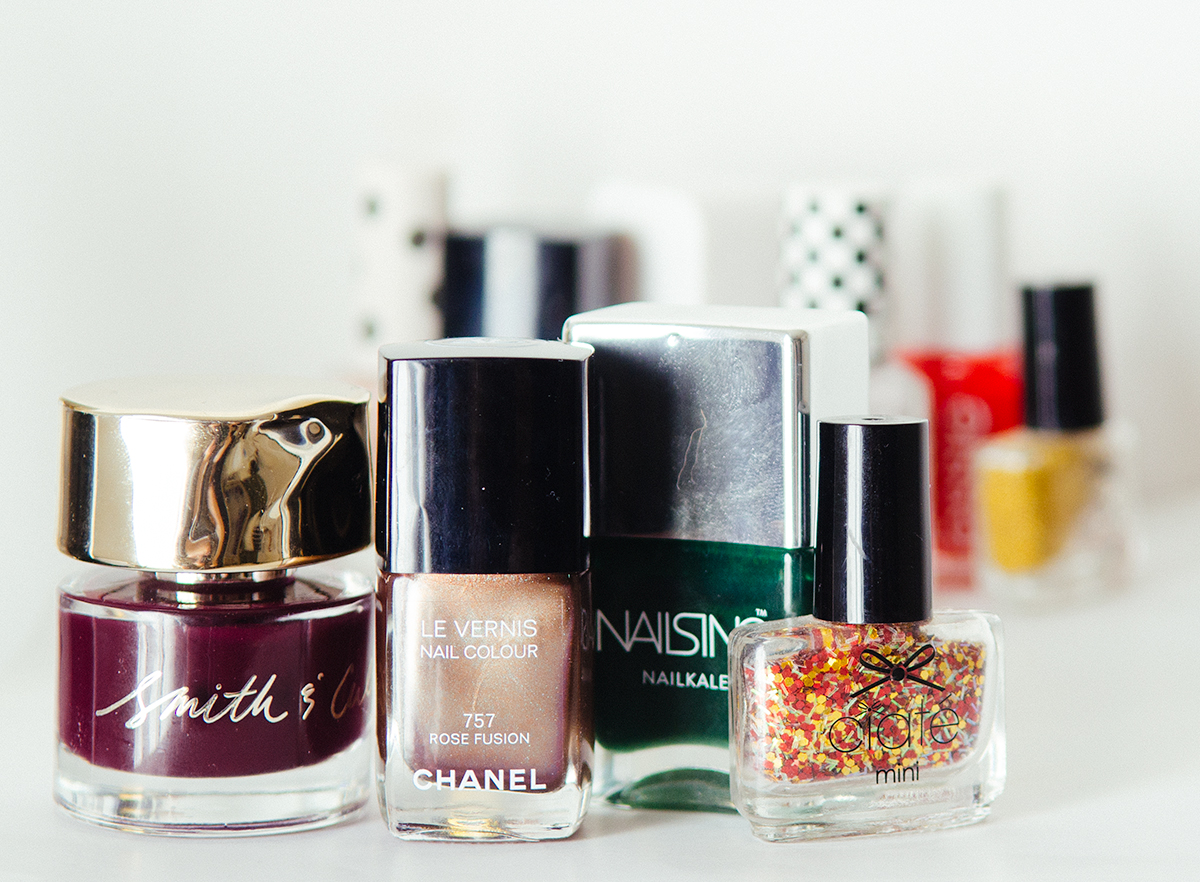 Festive Nail Polishes Choices