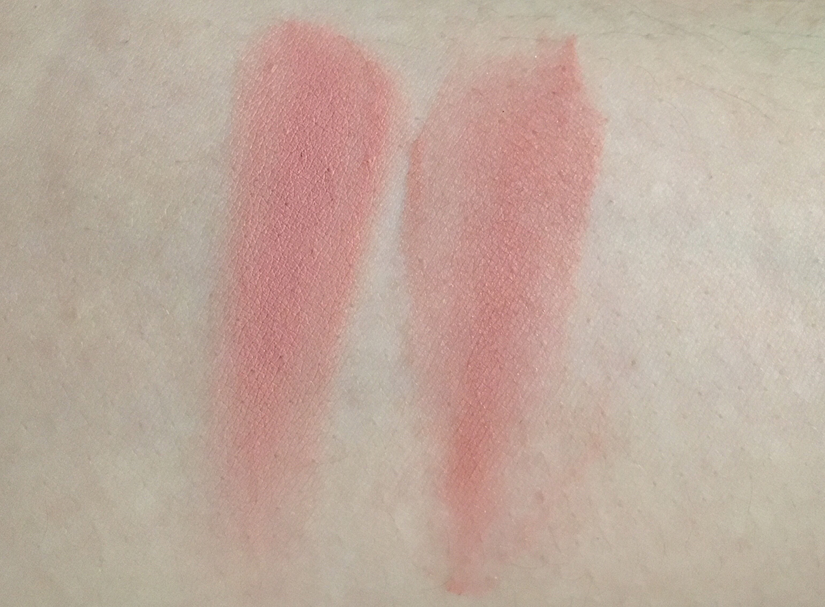HM Beauty Dusty Rose Cream Blush vs. Tarte Exposed