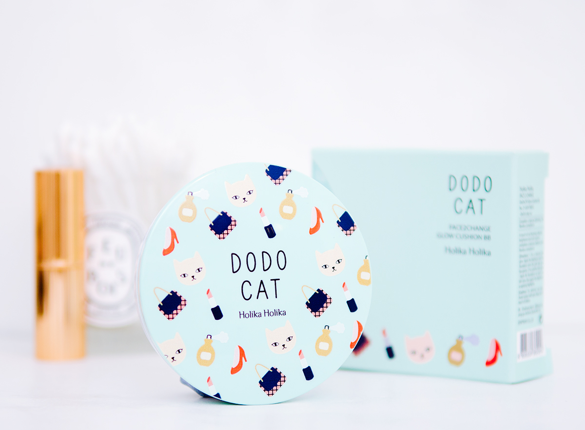 Quick Review: Holika Holika DodoCat Face2Change Glow Cushion BB