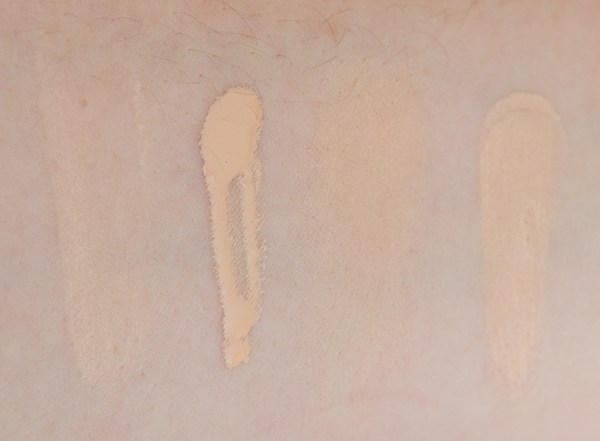 Glossier Phase 2 Concealer Light Swatch